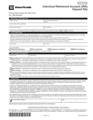 Printable printable deposit slip - Edit, Fill Out & Download