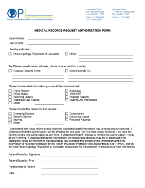 Editable medical records request form fill out print pdf forms medical records brequest authorizationb form altavistaventures Image collections