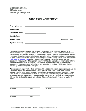 Good Faith Agreement.doc  Good Faith Agreement