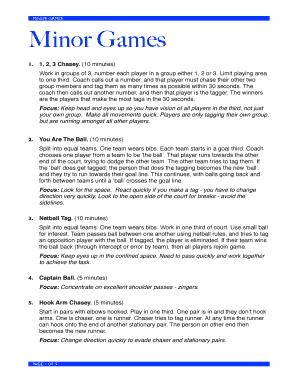 minor games pdf
