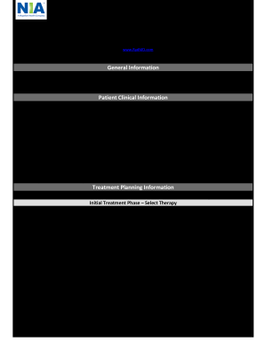 17 Printable Counseling Treatment Plan Template Pdf Forms