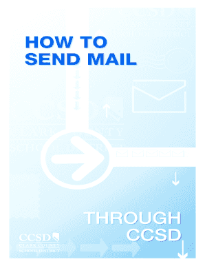 HOW TO SEND MAIL - Clark County School District