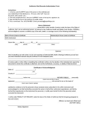 AUTHORIZATION FORM SAMPLE THIS IS JUST FOR YOUR REFERENCE