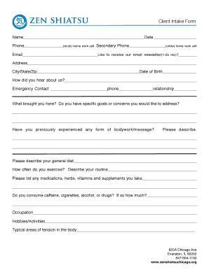 Rotation chart psc fill online printable fillable blank pdffiller client intake form zen shiatsu chicago zenshiatsuchicago thecheapjerseys Images