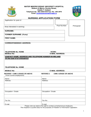 application for hospital job - Fill Out Online, Download