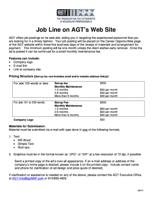 Introducing Job Line on AGTs Home Page - agt-info