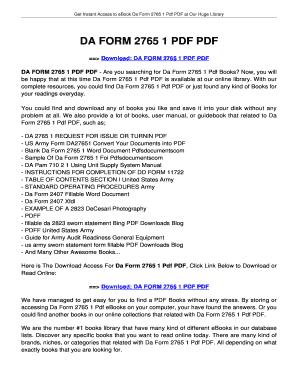 Fillable Online jansbooks DA FORM 2765 1 PDF PDF - jansbooksbiz ...