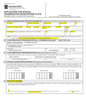 Eloquent image in printable mv-1 form, pennsylvania