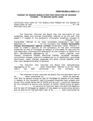 bank resolution form georgia
