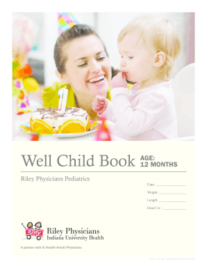 Well Child Book - IU Health - iuhealth