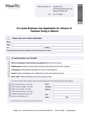 Sri Lanka Visa Application for Citizens of Pakistan - sri-lanka visahq
