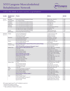 nyu langone brooklyn - Fill Out Online, Download Printable