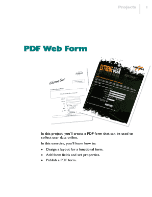 Creating a PDF web form - Serif