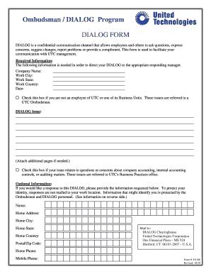 Ombudsman Utc - Fill Online, Printable, Fillable, Blank