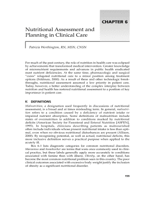 Printable Nutrition Assessment Form Pdf Templates To Submit Online