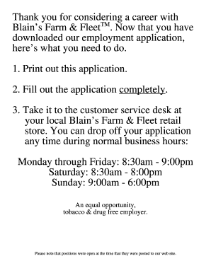 how to fill out application for employment