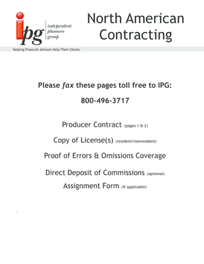 North American Contracting - IPG