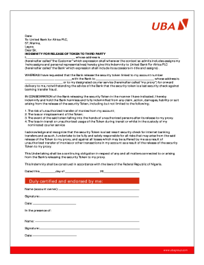 Uba Statement Of Account Sample - Fill Online, Printable