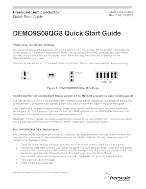 DEMO9S08QG8 Quick Start Guide. The FXOS8700 command line interface driver provides an easy way to communicate with the FXOS8700 using the RD4247FXOS8700 sensor toolbox platform. The sensor toolbox board is programmed with this firmware