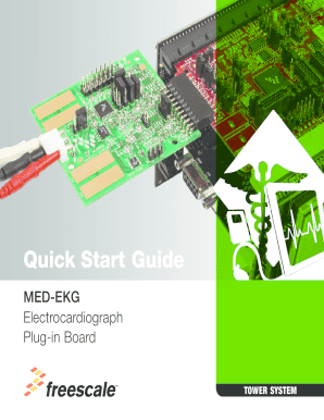 MED-EKG Quick Start Guide - Freescale