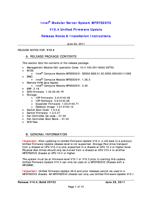 Fillable Online Intel Modular Server System MFSYS25V2 Fax Email