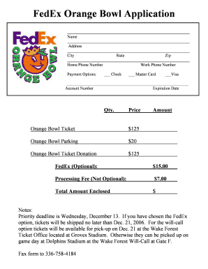 picture relating to Printable Fedex Door Tag known as Editable fedex charge Programs - Fill, Print Down load