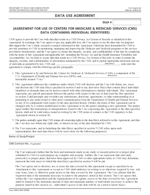 Fillable Online Form Cms R 0235 Agreement For Use Of Centers For