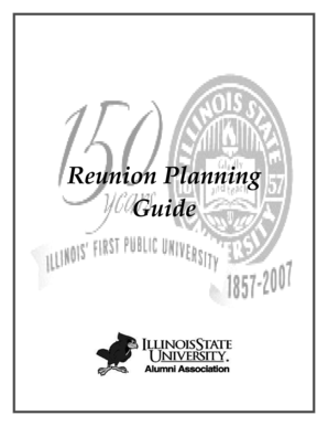 Reunion Planning Guide - SupportingAdvancement.Com
