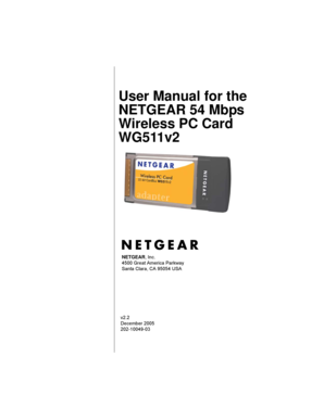 Netgear wireless pci adapter wg311v3