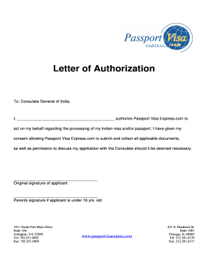 Authorization Letter To Get Documents from www.pdffiller.com
