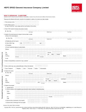 Icici Motor Insurance Claim Form Pdf Automotivegarage Org