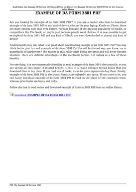 Fillable Online hainiao EXAMPLE OF DA FORM 3881 PDF - hainiaobiz ...