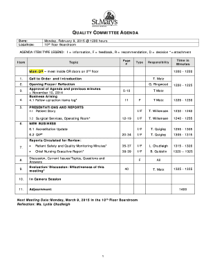 fillable online attendance sheet 2014 15 st marys general hospital