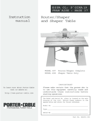 Fillable online kepler3 njit porter cable table mounted router fill online greentooth Image collections