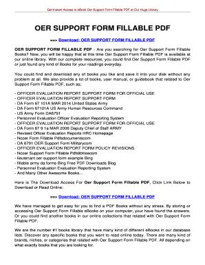 Fillable Online jansbooks OER SUPPORT FORM FILLABLE PDF ...