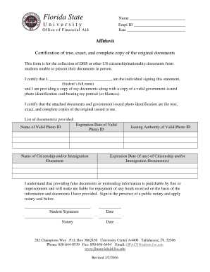 Editable Florida Financial Affidavit Fillable Form Fill Print