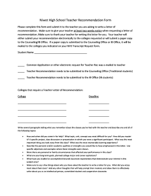 19 printable letter of recommendation elementary teacher forms and