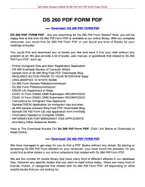 Fillable Online jansbooks DS 260 PDF FORM PDF - jansbooksbiz Fax