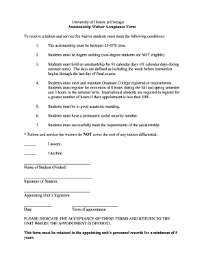 illinois waiver of service form - Editable, Fillable