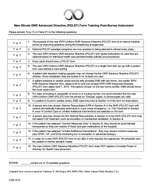 Bill Of Sale Form Illinois Polst Form Templates - Fillable ...