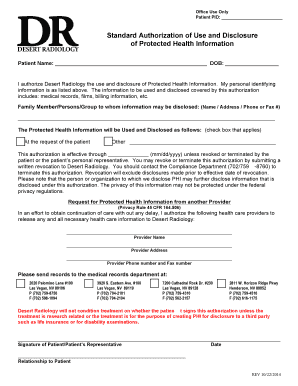 standard medical records release form edit fill out print