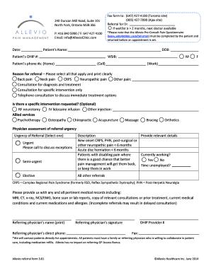 Fax Form To 647 427 4100 Toronto Site 240 Duncan