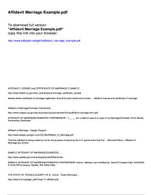 19 Printable Sample I 751 Affidavit Forms And Templates