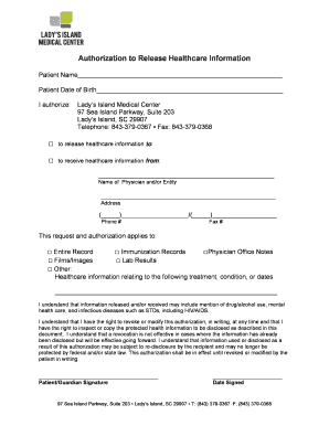 LIMC Authorization For Release Form.doc