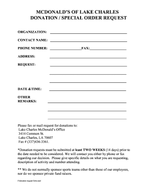 fill out mcdonalds job application online Forms and Templates ...