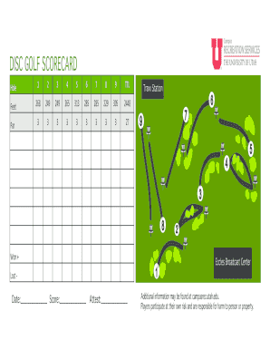 No Download Needed fillable golf scorecard