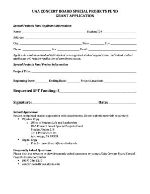 Concert planning guide - Fillable & Printable Resume Samples