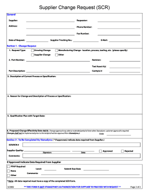 19 Printable Change Order Template Forms Fillable Samples In Pdf