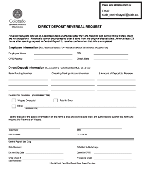 wells fargo direct deposit form - Edit Online, Fill Out & Download