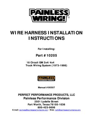 Remarkable Fillable Online Econtent Autozone Wire Harness Installation Wiring 101 Tzicihahutechinfo